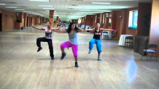 Action Reggae Dance Fitness Routine