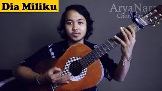 Chord Gampang (Dia Miliku - Yovie And Nuno) by Arya Nara (Tutorial)