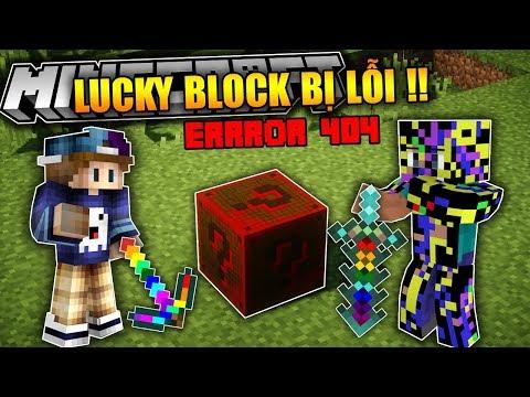 THỬ ĐẬP LUCKY BLOCK BỊ LỖI (HỎNG) !! Tất Cả Mọi Thứ Đều Bị Lỗi !! | Lucky Block Error