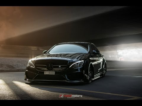 Mercedes C Class Coupe >> Bagged Mercedes C200 - YouTube