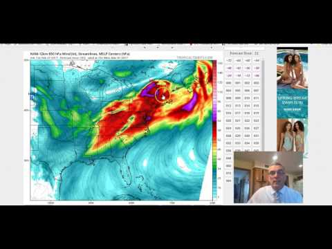 Severe Weather Outbreak Looms Tuesday-Wednesday Minor Snow Possible Friday 02272017
