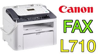 Canon i-SENSYS FAX-L170 Unboxing and Review!