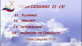Dream Categories 11-15