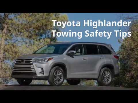 Toyota Highlander Towing Capacity >> Can You Guess What A Highlander Xle Can Tow Toyota Parts