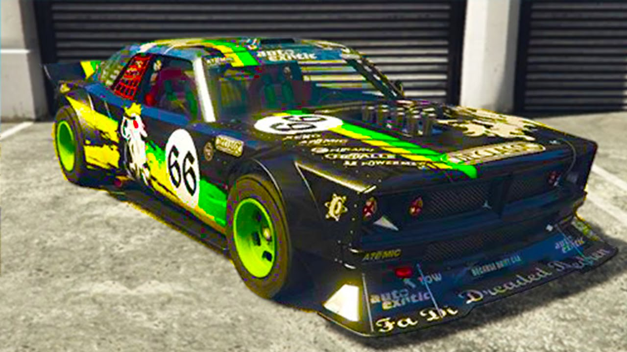 Gta 5 5 Secret Cars In The Cunning Stunts Dlc Tampa Custom