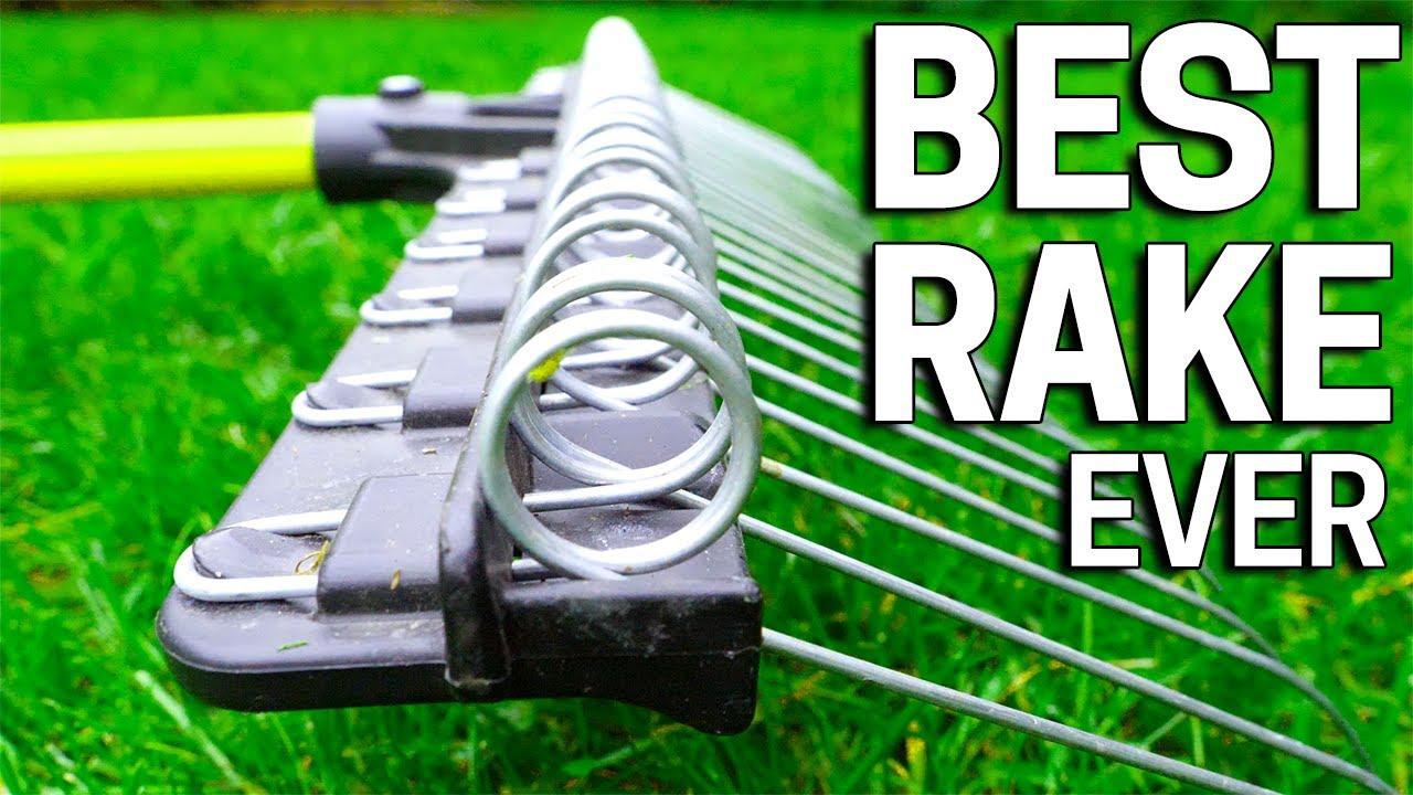 Best Lawn Rake Ever Spring Raking For Leaves