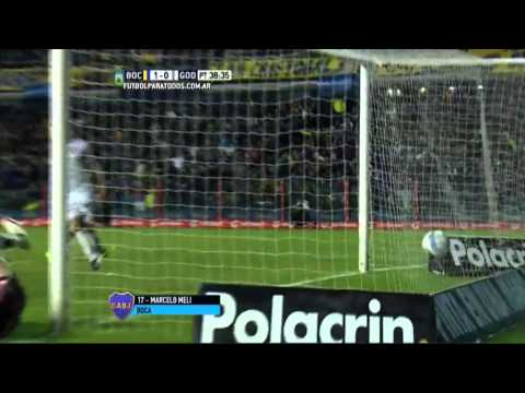 Boca derrotó a Godoy Cruz y lidera junto a San Lorenzo