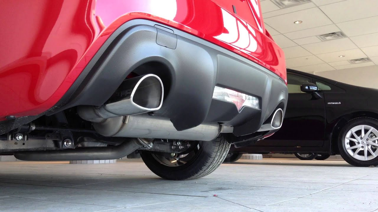 2013 Scion FR S with TRD Exhaust System