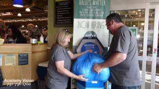 Academy Vision Recycles Plastic No. 5 at Whole Foods