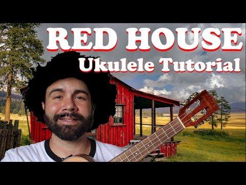 Red House - Jimi Hendrix - Ukulele Tutorial with tabs