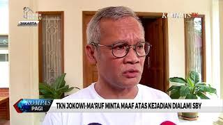 TKN Jokowi-Ma'ruf Minta Maaf Atas Kejadian Dialami SBY