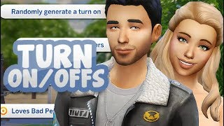 TURN ON/OFFS, MEMORY SYSTEM, ILLNESSES AND MORE!  😷💔| THE SIMS 4 // SLICE OF LIFE
