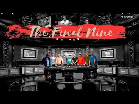 2019 World Series Of Poker Main Event Final Table
