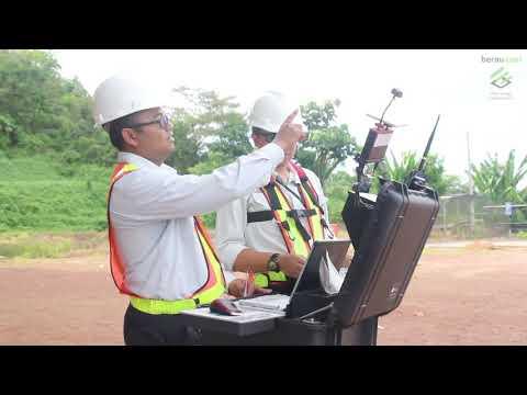 UAV LiDar dan Slope Stability Radar (SSR) Berau Coal