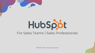 HubSpot for Sales Teams