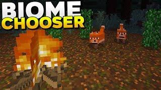 ASÍ SE VERÁN LOS NUEVOS MOBS Y LOS BIOMAS! 🦌  | Minecraft PE  1.8 | Biome Chooser