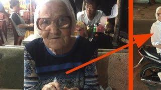 Die Touristin hilft einer 90-Jährigen. Doch was in ihr …