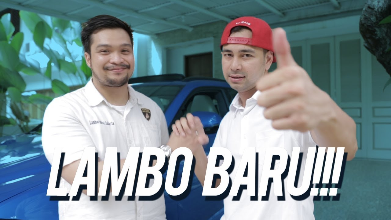 Wow, Raffi Ahmad Mau Beli Lamborghini Urus ? - YouTube