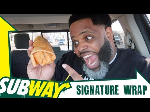 Subway Signature Wrap (Flavored Tortilla)
