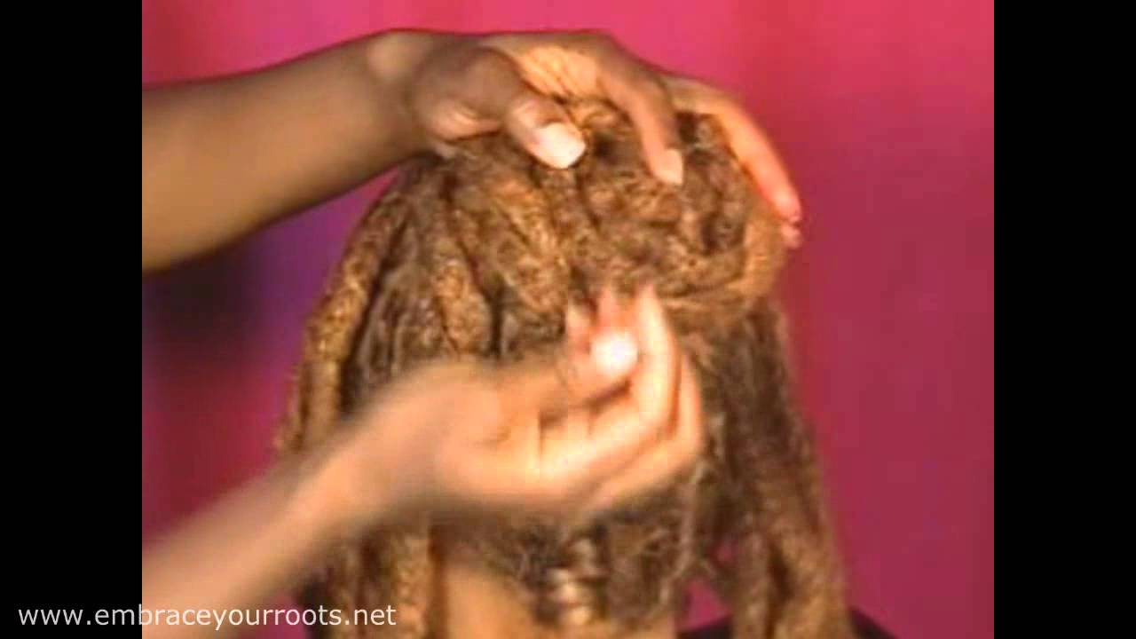Hair Locking 102 Natural Hair Style The Updo Www