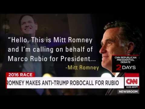 Hello, this is Mitt Romney