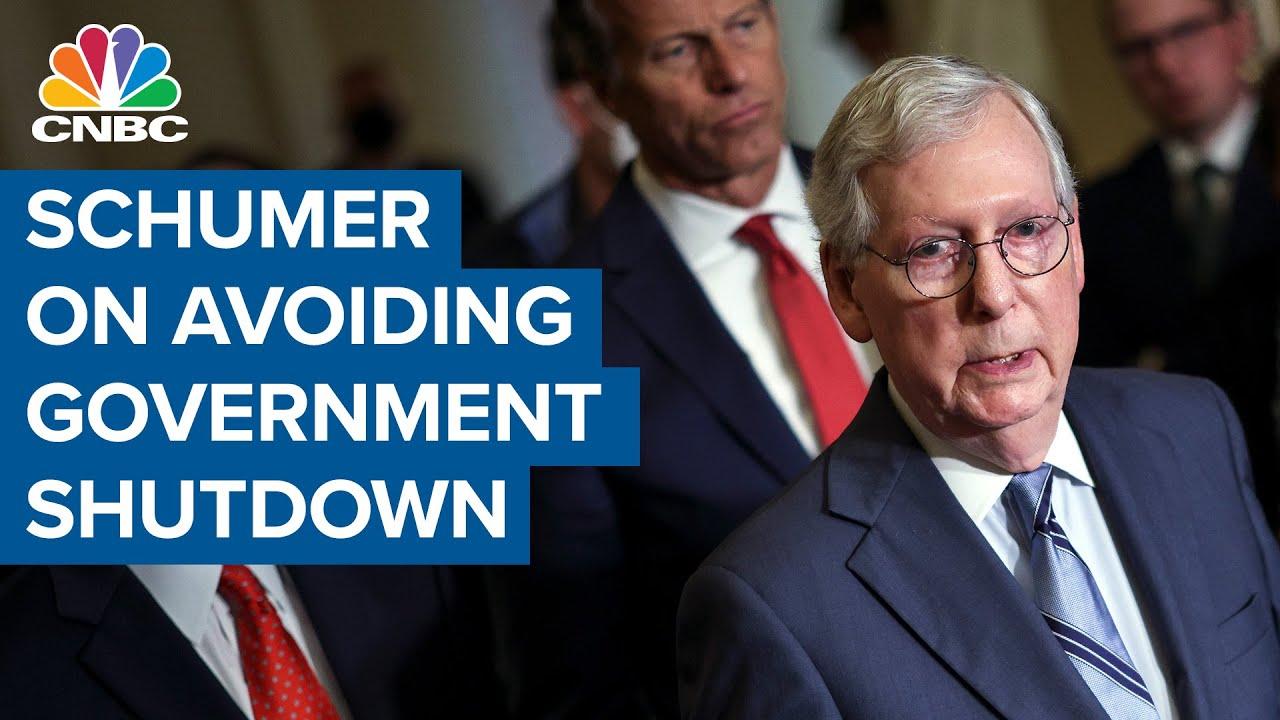 Government shutdown: Schumer announces Senate will vote ...