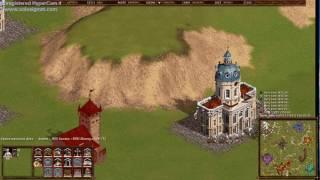 Казаки Снова война, играю нацией Пруссия 1vs6, сложность игры на максимуме.