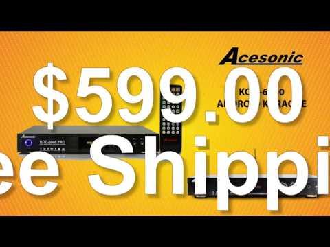 Acesonic KOD 6000 Pro 4K UHD Android Multimedia Karaoke Player $599 00