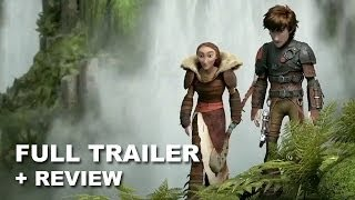 How To Train Your Dragon 2 Official Trailer 3 + Trailer Review : HD PLUS