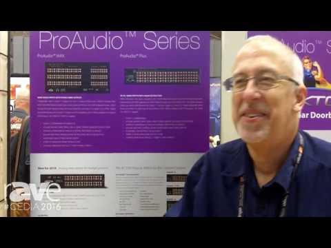 CEDIA 2016: Zektor Adds Instant Doorbell Reply to ProAudio Series