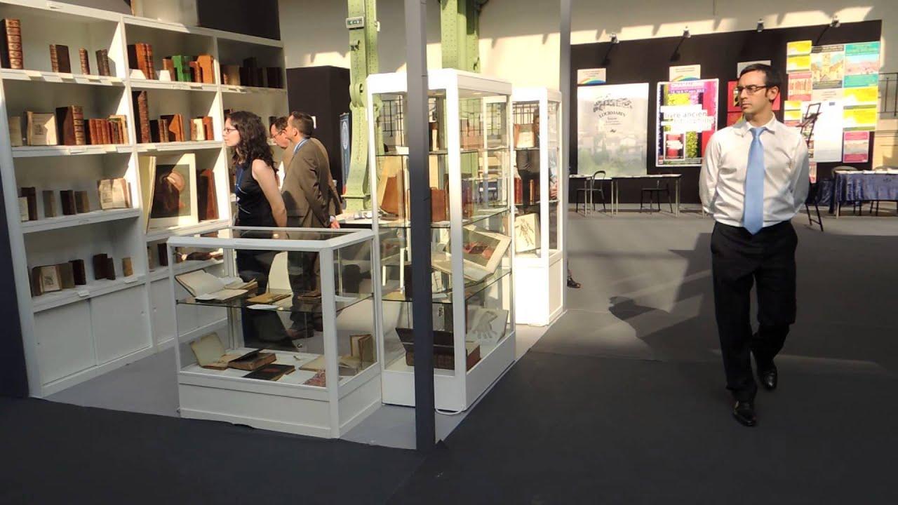 Grand Palais Salon du Livre ancien 2013 2/4 - YouTube