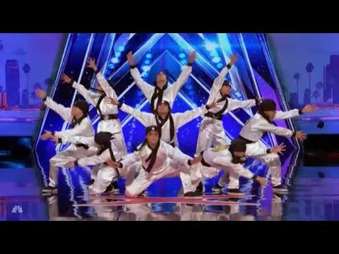 Just Jerk: Dancers From Korea With CRAZY Moves | Auditions 4 | America's Got Talent 2017