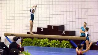 JoElle Level 5 Balance Beam at TWU