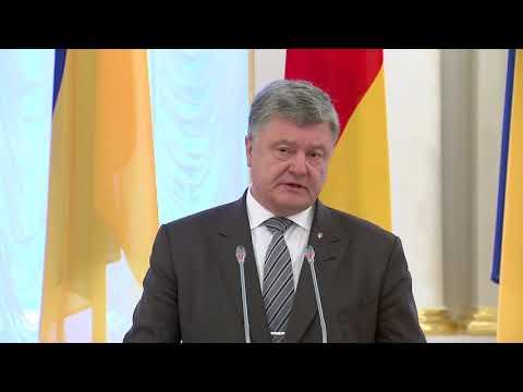 Президент: Розраховуємо, що рішення щодо миротворців на Донбасі буде прийнято найближчим часом