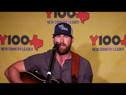 """Riley Green """"If It Wasn't For Trucks"""" acoustic Live at Y100 August 16, 2018"""