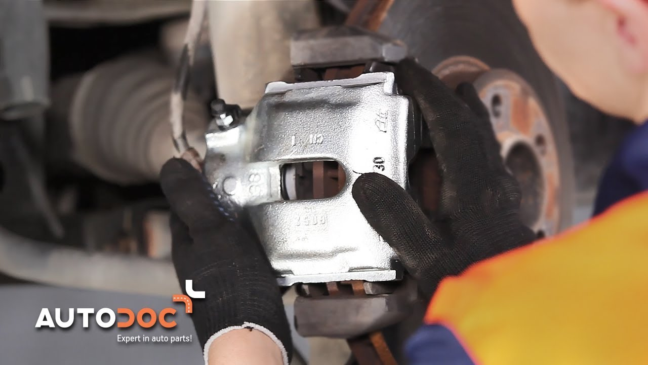 How To Replace Front Brake Caliper Bmw X5 E53 Tutorial