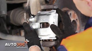 Replacing Caliper on BMW X5: workshop manual