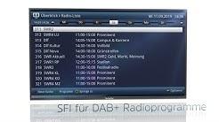 Noch mehr Komfort beim Radiohören mit kostenlosem Update. | SONATA 1 | TechniSat