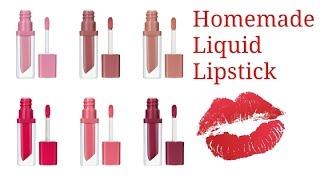 Homemade Liquid Lipstick  DIY  liquid lipstick