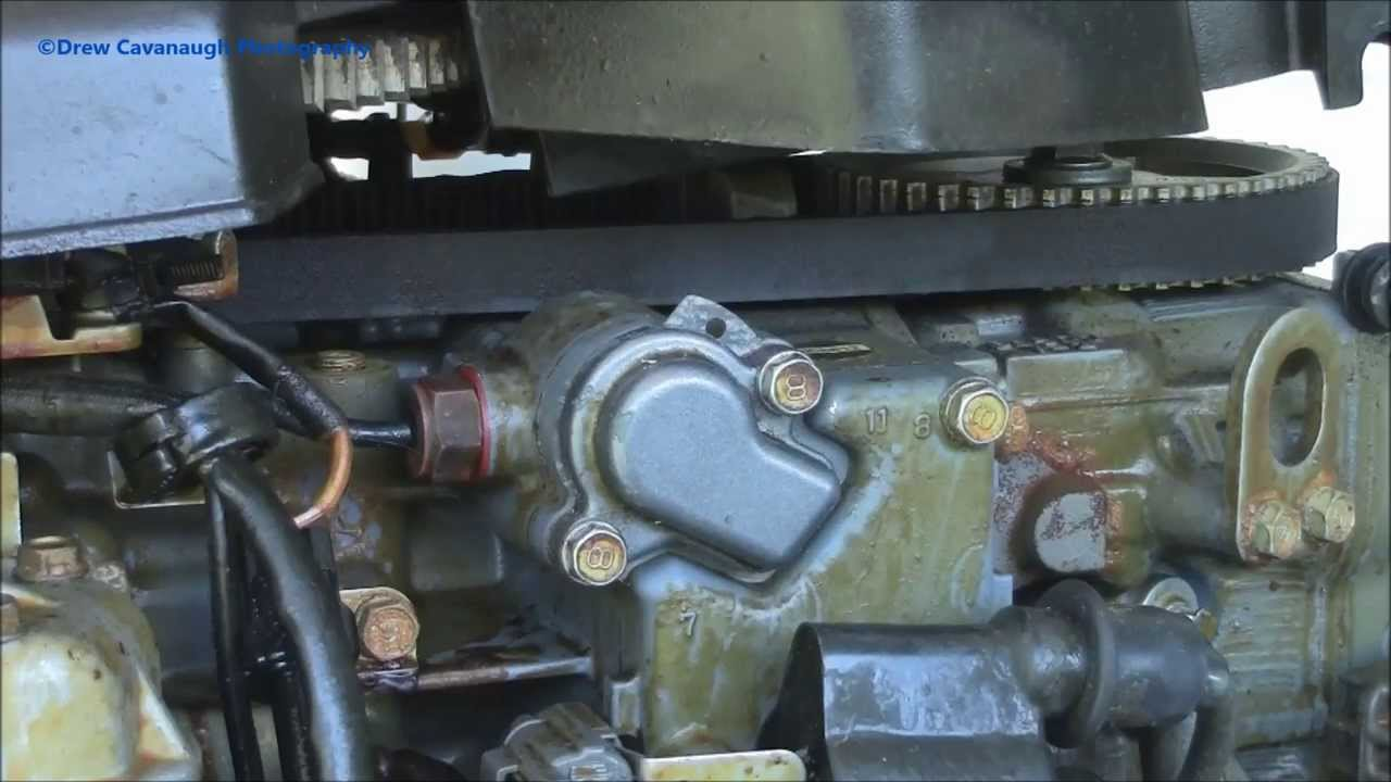 Hp Wiring Diagram How To Change An Outboard Thermostat Youtube