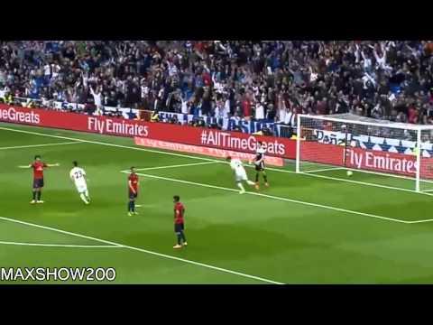 Cristiano Ronaldo ( assist DI MARIA) Amazing Goal   Real Madrid vs Osasuna 1 0 ~ 26 04 2014 ~ HD