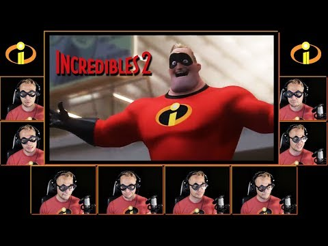 INCREDIBLES Theme Song - A Cappella Cover(Incredibles 2)