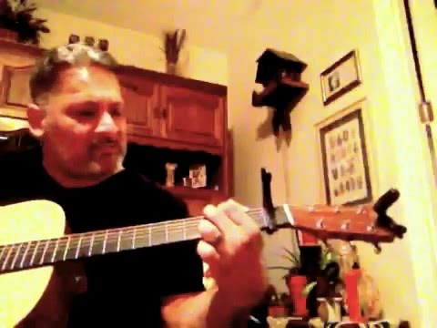Guitar cover George Strait, I saw God today ,Cecil