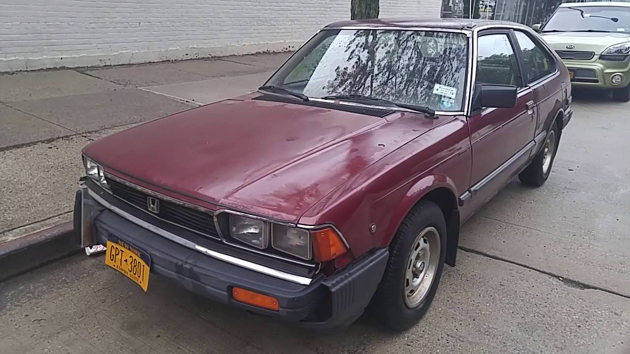 1983 Honda Accord LX hatchback - YouTube