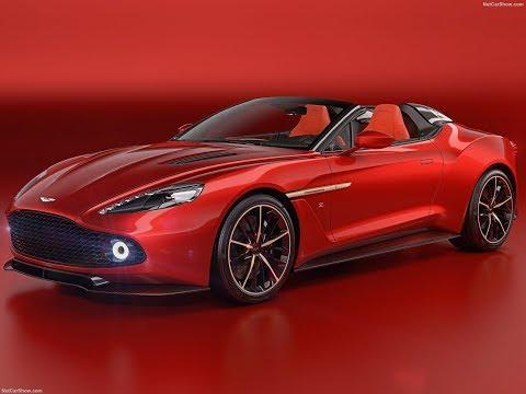 New Aston Martin Vanquish Zagato Speedster Concept 2017 - 2018 Review, Photos, Exterior and Interior