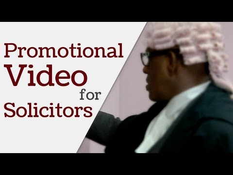 Promo Video for Solicitors | Video Production Company Ginger Video, Reading, Berkshire