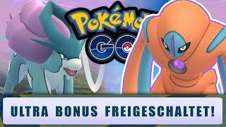 Ultra Bonus freigeschaltet! | Pokémon GO Deutsch #1096