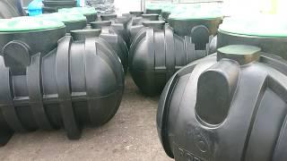видео Накопительные емкости для канализации