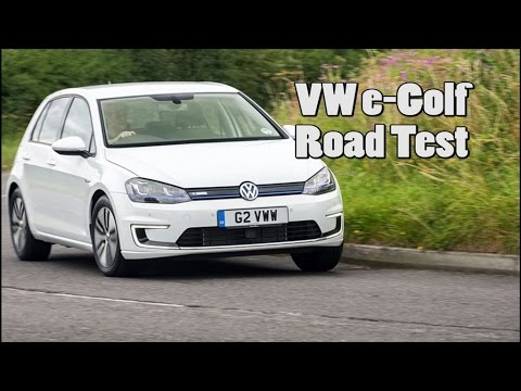 VW e-Golf 2014 -first drive of this lovely electric family car, it's good! [Review]