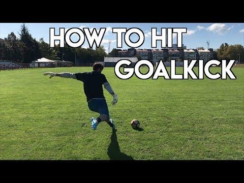 HOW TO TAKE GOAL KICKS LIKE A PRO - GOAL KICK TUTORIAL - GOALKEEPER TRAINING